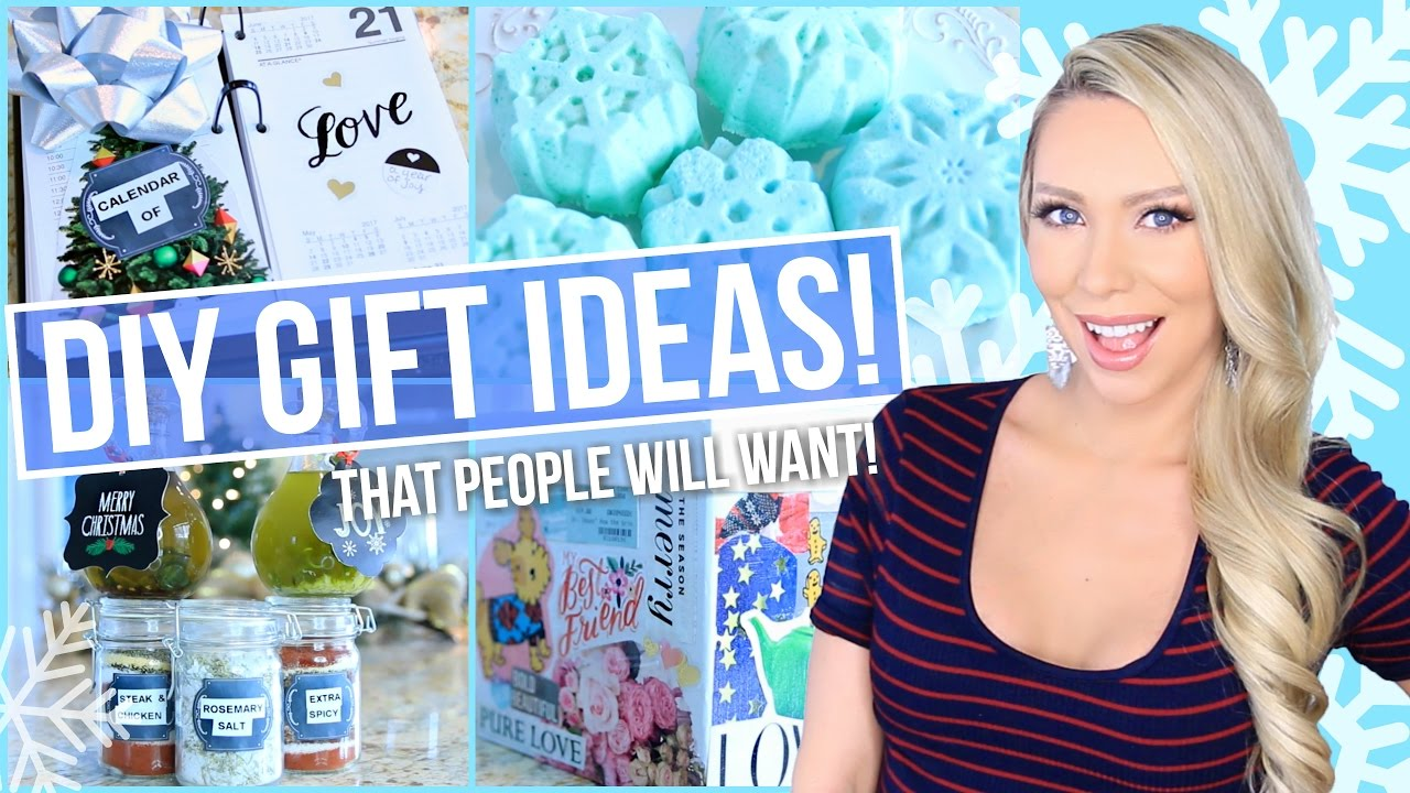 Diy Christmas Gifts That People Will Actually Want Youtube