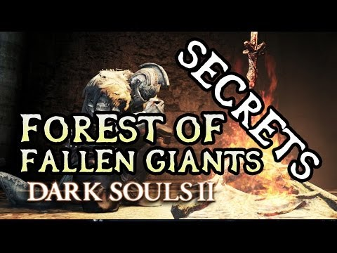 Dark Souls 2 Secrets: FOREST OF FALLEN GIANTS/CARDINAL TOWER!