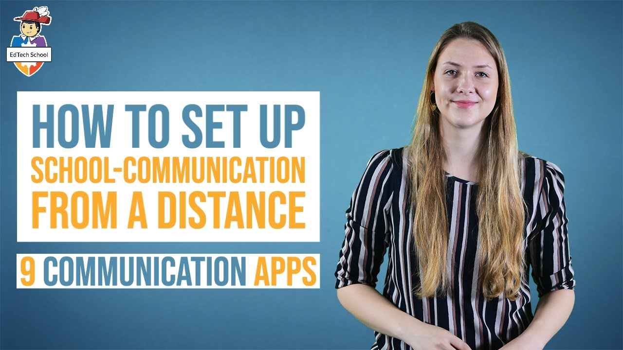 How to set up school communication from a distance - 9 communication apps for teachers