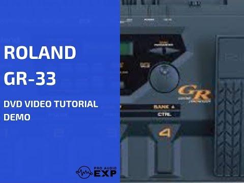Roland (Boss) GR-33 DVD Video Tutorial Demo Review Help