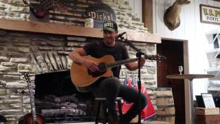 """Dustin Lynch Covers Garth Brooks' """"The Dance"""" at George Dickel Distillery"""
