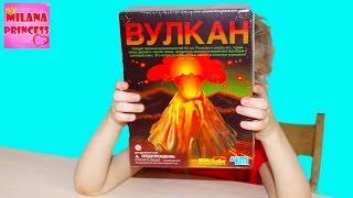 Набор Вулкан Kidz Labs: Делаем вулкан и проводим опыты!