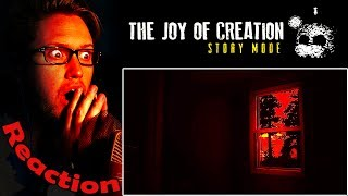 The Joy of Creation: Story Mode Trailer REACTION! | THE ULTIMATE FNAF! |