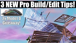 3 NOUVEAU Pro Building and Editing Tips and Drills In Fortnite Creative Mode! Modèle O Mouse Giveaway!