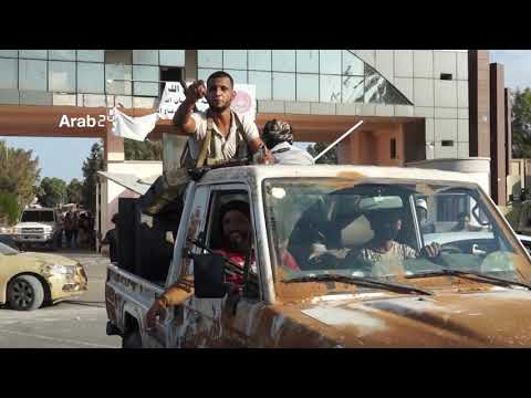 Libya |Renewed violent clashes with various types of weapons in Tripoli. (Exclusive scenes)