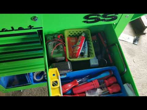New Harbor Freight Tool Cart With Mods