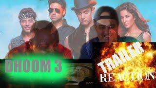 DHOOM 3 TRAILER REACTION I AAMIR KHAN I (REQUEST)