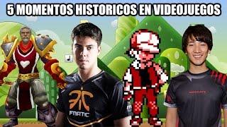 5 Momentos que hicieron historia en los videojuegos - Retro Toro