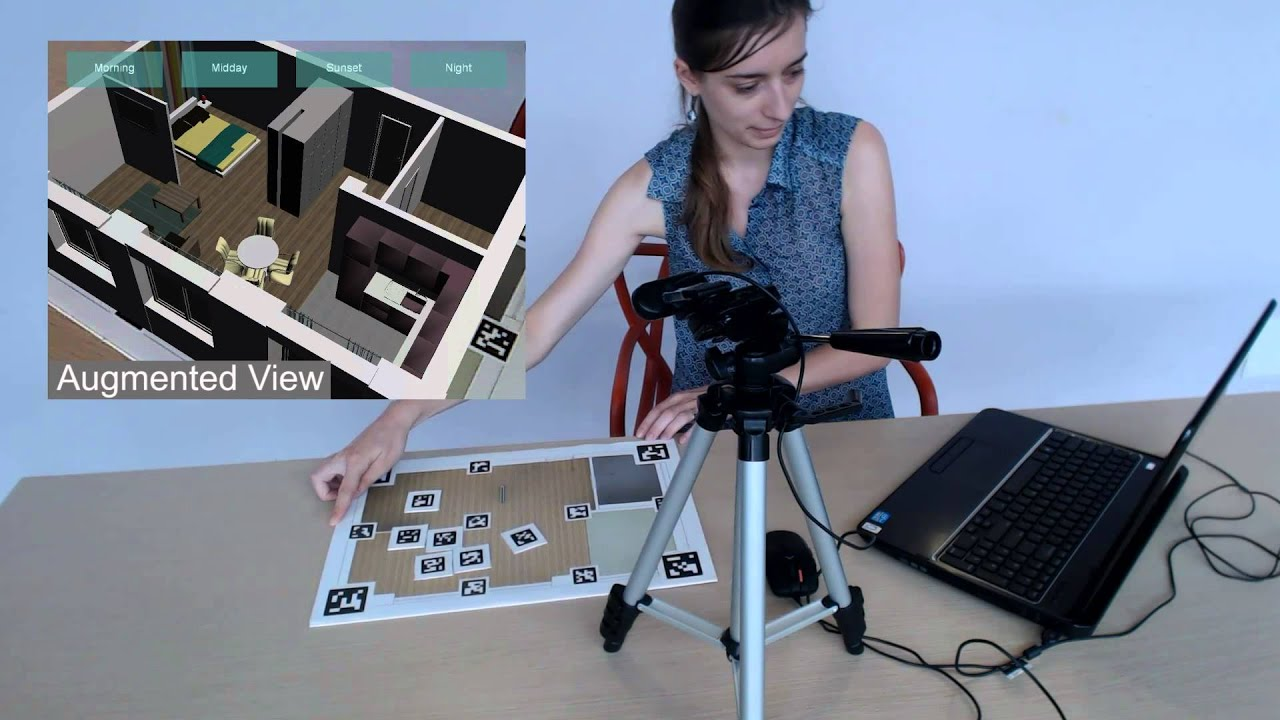 Tangible Augmented Reality For Interior Design Youtube