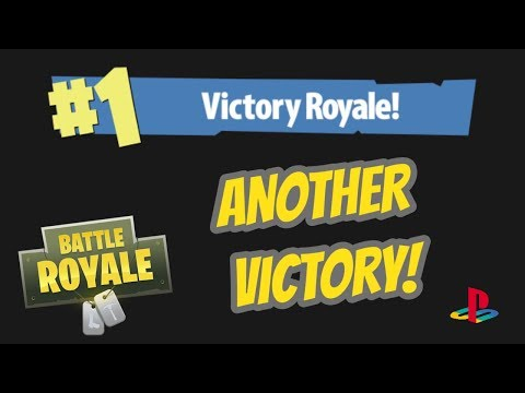 Fortnite (PS4) - Another Victory! (Battle Royale)