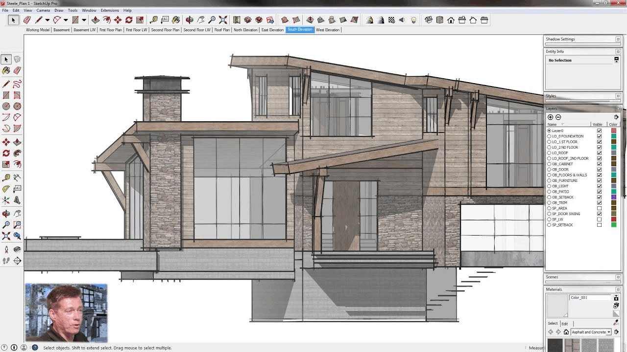 SketchUp for Construction Documentation: Plan Template ...