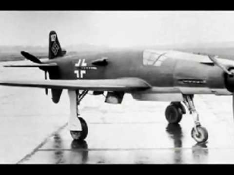 Dornier Do 335 Pfeil (Arrow) - fastest piston engine fighter of WW2