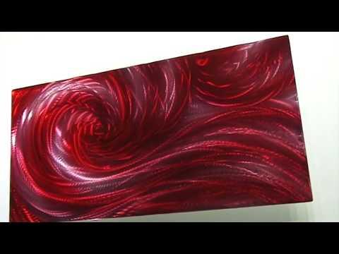 painting on metal art Sea Ocean wave modern wall decor  by Lubo Naydenov