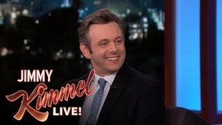 Michael Sheen on Dating Jimmy's Ex Sarah Silverman