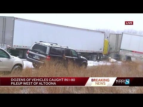 I-80 Closed East Of The East Mixmaster Due To Multi-vehicle Crash