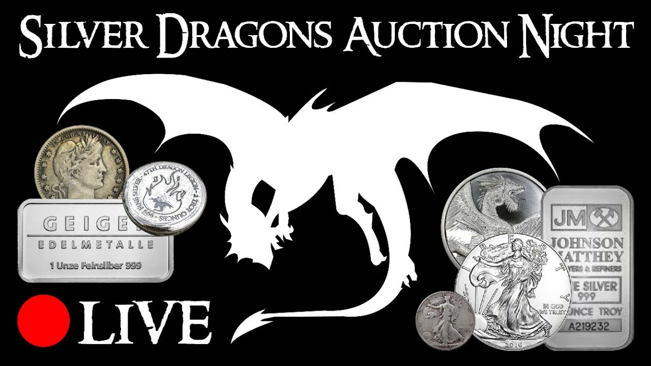 Silver Dragons LIVE Auction Night #8