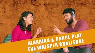 Suryakantam Whisper Challenge || Niharika Konidela || Rahul Vijay