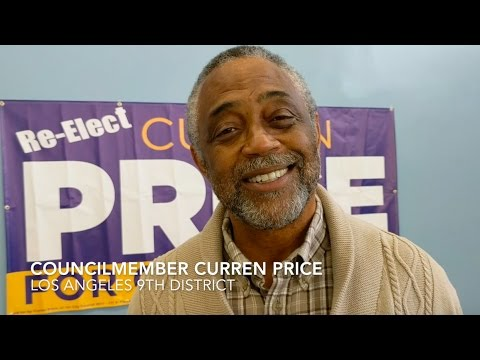 Councilmember Curren Price teams up with #TeamGarcetti