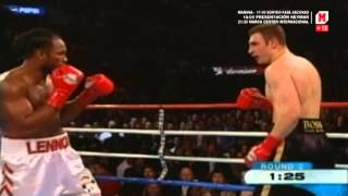 Lennox Lewis vs Vitaly Klitschko