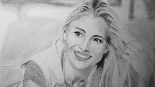 Elsa Pataky - Speed drawing