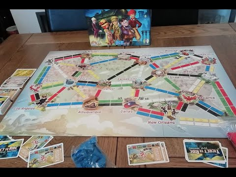 Ticket to Ride First Journey |