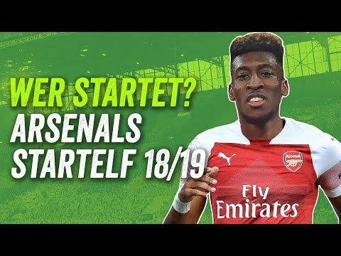Aubameyang oder Lacazette? Wer spielt unter Emery? Arsenals potenzielle Startelf Saison 18/19!