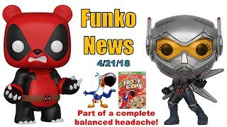 Funko News Brief - April 21, 2018