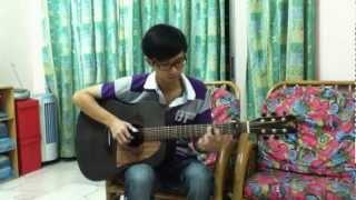 愛你 (Kimberley陳芳語) --  JoeSiang 卓祥 ♪  (Percussive Fingerstyle 吉他版)
