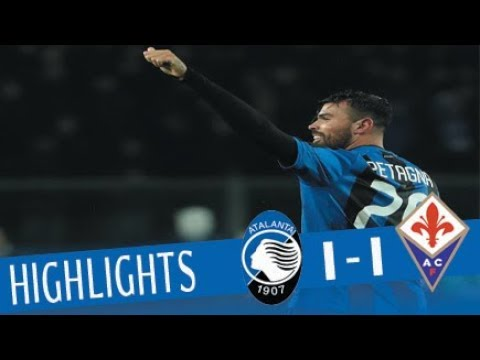 Atalanta - Fiorentina 1-1 - Highlights - Giornata 25 - Serie A TIM 2017/18