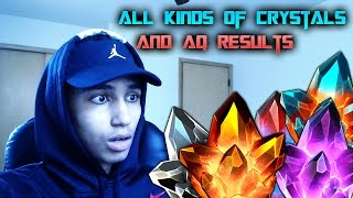 marvel contest of champions crystal opening and aq results