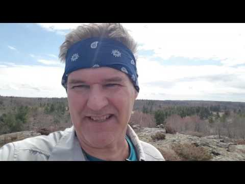 Frontenac Provincial Park 3 day backpacking trip April 2017