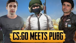 When CS:GO Streamers Play PUBG (PlayerUnknown\'s Battlegrounds Highlights)
