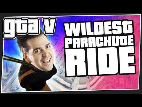 Wildest Parachute Ride - GTA 5 Online
