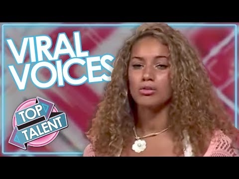 10 VIRAL VOICES | Most Viral Singing Auditions On Got Talent, X Factor & Idols