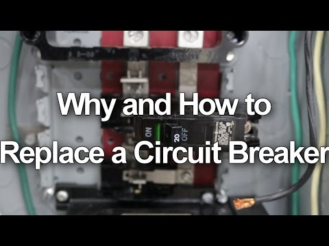 How to Replace / Change a Circuit Breaker in your Electrical Panel