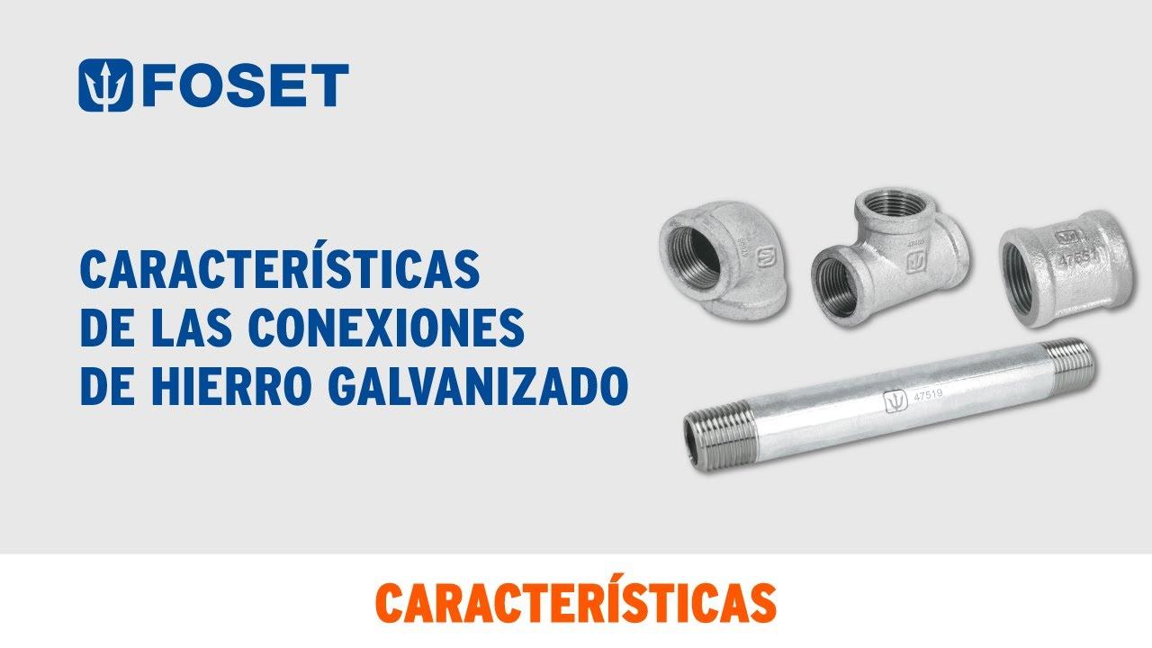 Conexiones de hierro galvanizado foset youtube for Casetas de hierro galvanizado