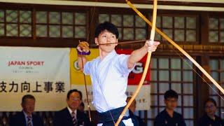 天皇盃 2019 All Japan Kyudo Championship 2019年 全日本弓道選手権大会 決勝進出者(2組・1立目)