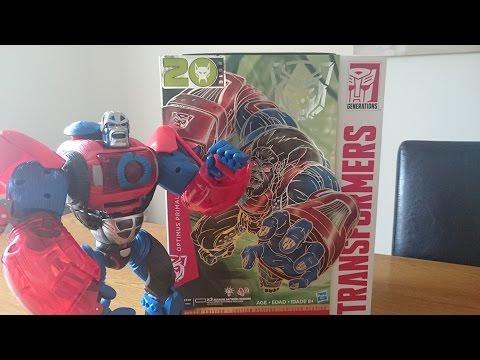 Transformers Year of the Monkey Platinum Edition Optimus Primal