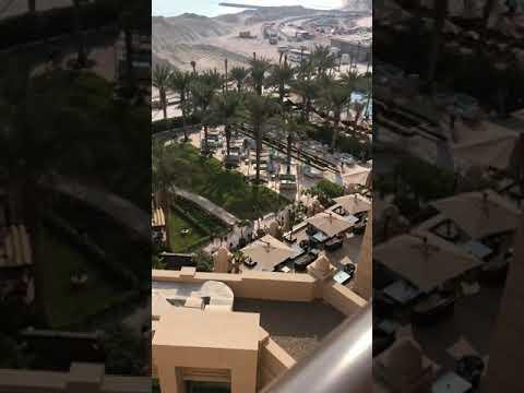 FAIRMONT HOTEL Dubai palm Jumeirah new construction 2019