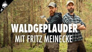#WALDGEPLAUDER mit Fritz Meinecke – Alleine draussen, Aufwand Videoschnitt, Notfälle in den Bergen
