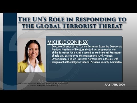 The UN's Role in Responding to the Global Terrorist Threat