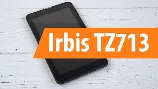 Распаковка Irbis TZ713 / Unboxing Irbis TZ713