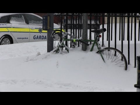 Snow in Ireland 2018: the chronicles of the worst 3 days. Chaos of storm Emma & Beast of the East.