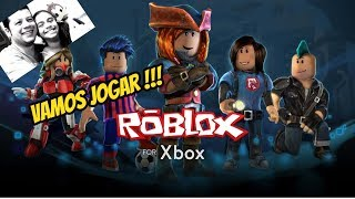 Playing Roblox on Xbox One x. 04