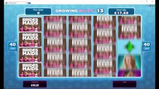 Bridesmaids Slot Mega Big Win - Microgaming