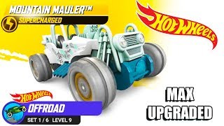 Hot Wheels: Race Off - Mountain Mauler Supercharged Unlocked &Maxed   Android Gameplay   Droidnation
