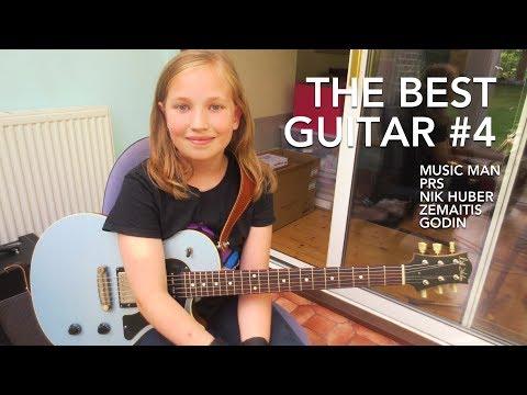 The best guitar - Part 4 - PRS vs Nik Huber vs Music Man etc.