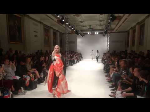 Swedish School of Textiles Freemasons' Hall SS16 London Fashion Week 2015