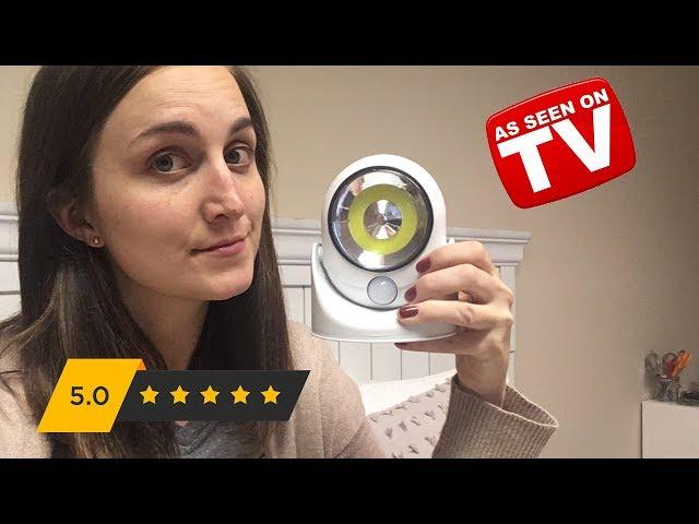 Atomic Angel Light Review: As Seen on TV Motion Sensor LED