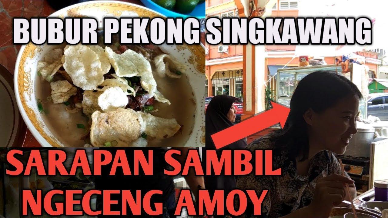 Kuliner Halal Bubur Pekong Singkawang Sarapan Sambil Ngeceng Amoy